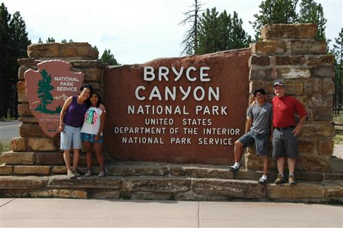 My family and I at Bryce Canyon  Summer 2016
