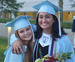Two Skyline female grads