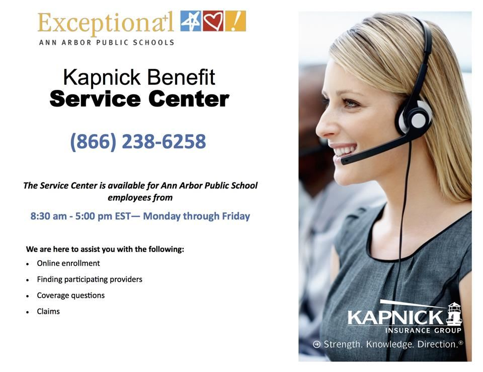 Kapnick service center flyer