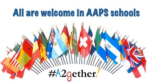 All are welcome in AAPS graphic