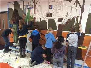 Fifth Grade murals