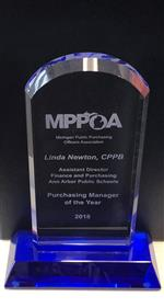 Linda Newton Named MPPOA Purchasing Manager of the Year