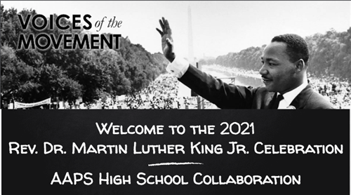 Watch the AAPS Martin Luther King, Jr. Day Celebration Webinar
