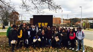 Western Michigan University visit group