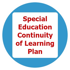 Special education continuity of learning plan