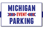 Michigan event parking logo