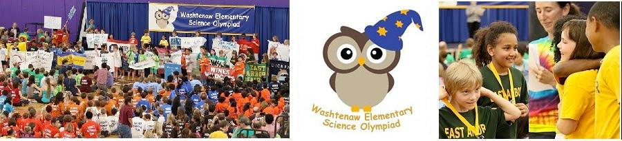 Washtenaw Elementary Science Olympiad