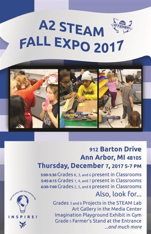 A2 STEAM Fall EXPO 2017