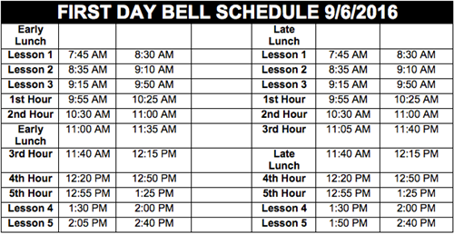 FirstDayBell