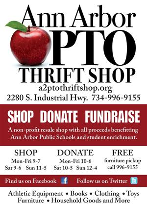 PTO Thrift Shop Graphic
