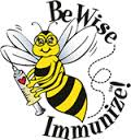 Be wise - immunize graphic