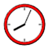 Clock face graphic